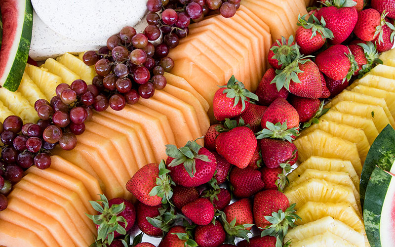 A Catered Event Wedding Fruit
